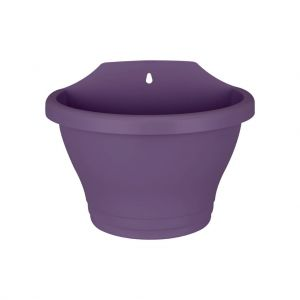Elho corsica wall basket small 25 grape purple