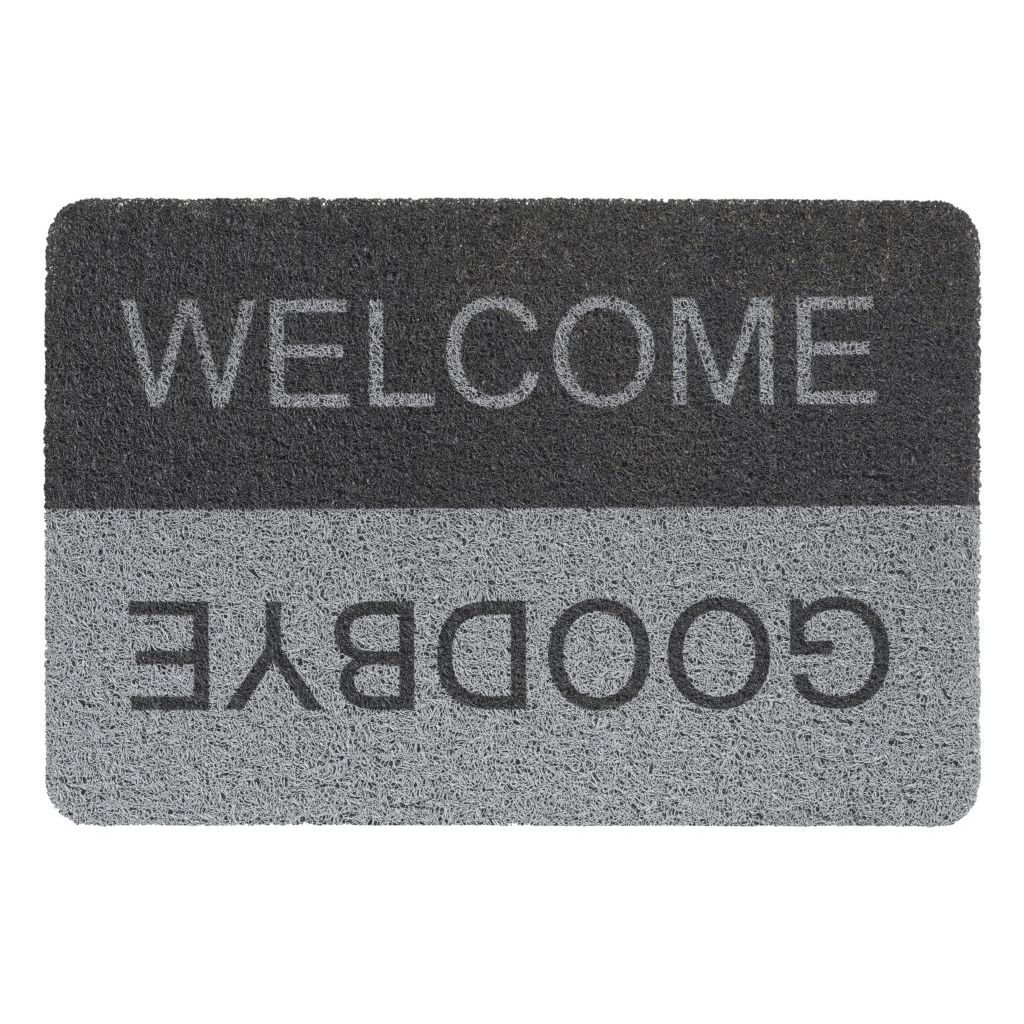 Hamat Curly buitenmat 40x60 welcome goodbye