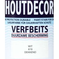 Hermadix houtdecor 619 wit 750 ml