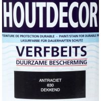 Hermadix houtdecor 630 antraciet 2500 ml