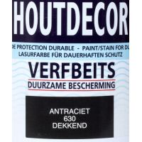 Hermadix houtdecor 630 antraciet 750 ml