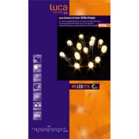 Icicle luca connect 24 led 49 lampjes warm wit - afbeelding 2