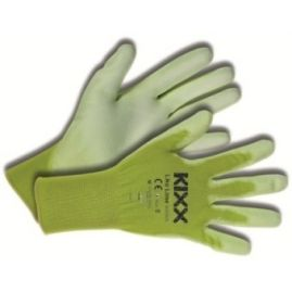 Tuinhandschoen KIXX Like Lime maat S ofwel 7