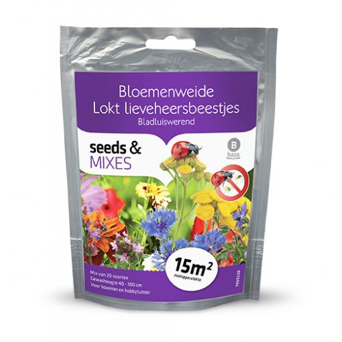 Seeds and Mixes Bloemenweide Geurende bloemenweide 15m2