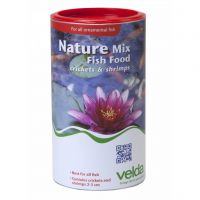 Velda nature mix shrimps & crickets 1250 ml