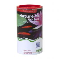 Velda nature mix shrimps & meal worms 1250 ml
