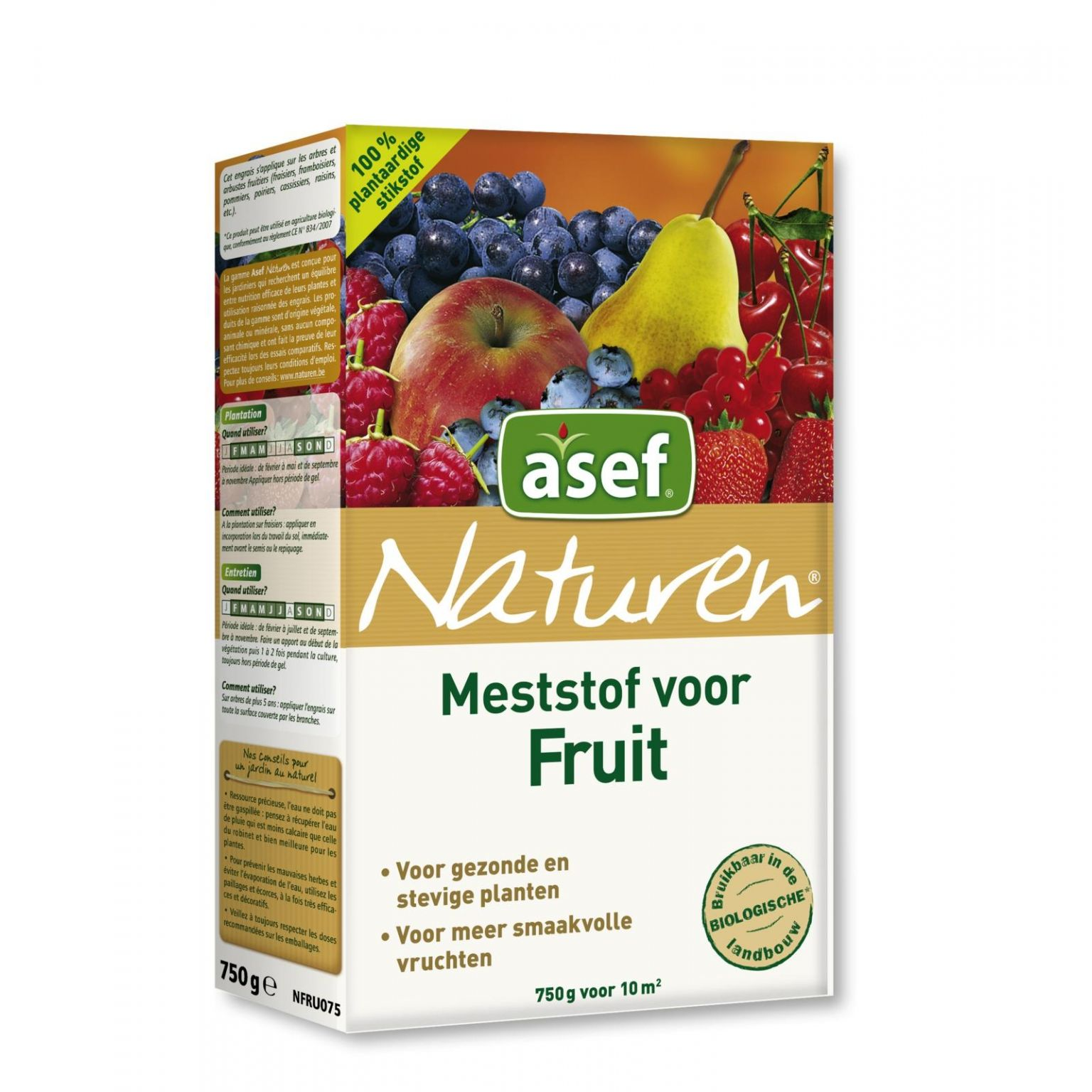 Asef naturen fruitmest 750 gr
