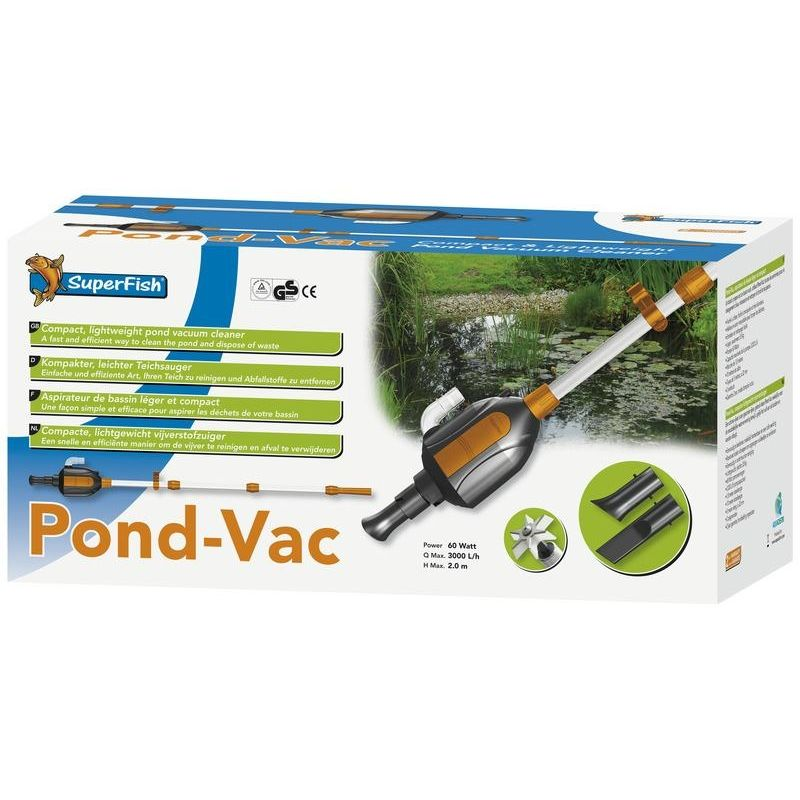 Superfish pond vac for Koi pond vacuum