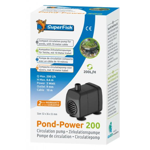Superfish Pondpower 200
