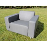 Triniti Tom lounge armchair graphite