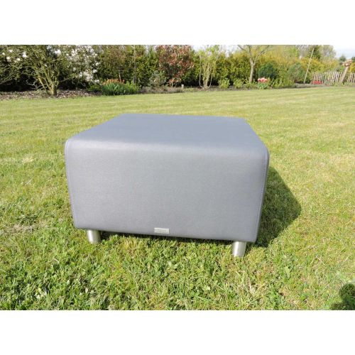 Triniti tom lounge hocker graphite - afbeelding 1