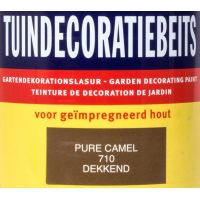 Tuindecoratiebeits 710 pure camel 750 ml