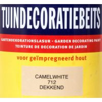 Tuindecoratiebeits 712 camel white 750 ml