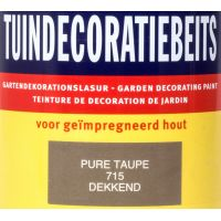 Tuindecoratiebeits 715 pure taupe 750 ml