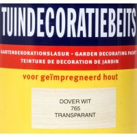 Tuindecoratiebeits 765 dover wit 750 ml