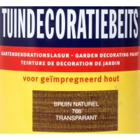 Tuindecoratiebeits 766 bruin naturel 750 ml