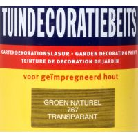 Tuindecoratiebeits 767 groen naturel 750 ml