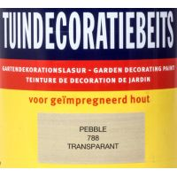 Tuindecoratiebeits 788 Pebble grijs 750 ml