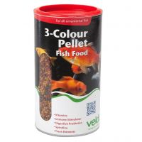 Velda 3-colour pellet food 1250 ml
